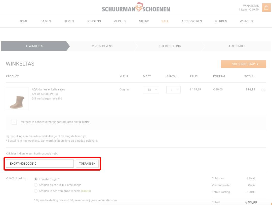 e8ca300bac4 Schuurman Schoenen kortingscode: 20% extra ▷ LIVE: 33 x deals in juni