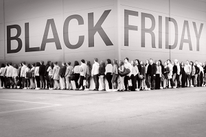 Start Black Friday in Nederland
