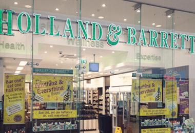 De Tuinen verandert haar naam naar Holland & Barrett